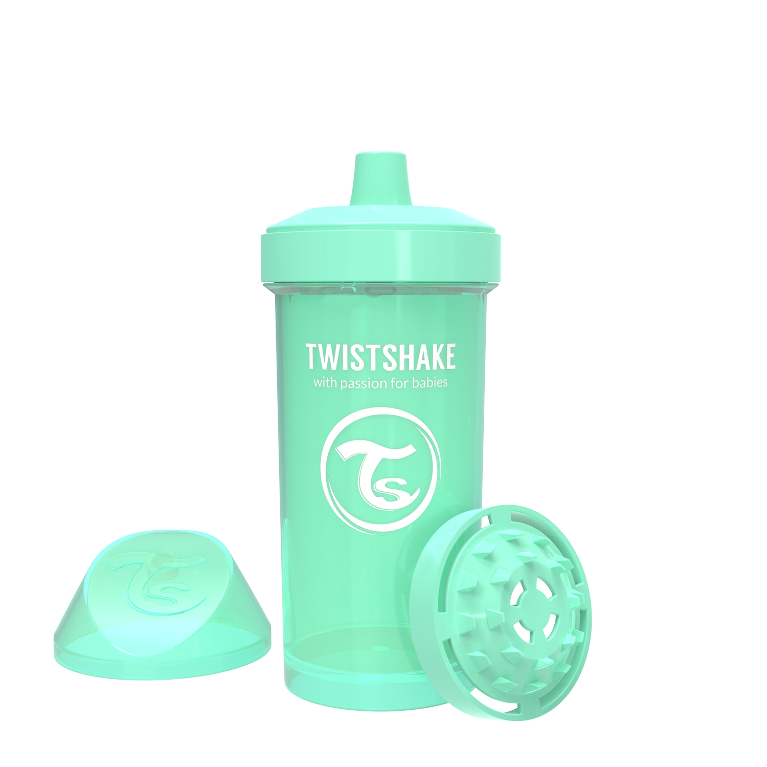 Vasos Twistshake Kid Cup 360ml 12 m Verde