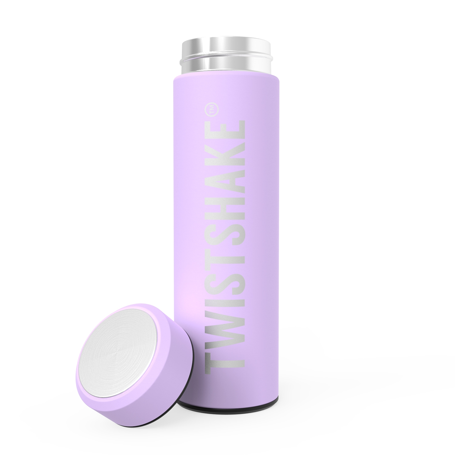 Termo Twistshake Hot or Cold Bottle 420ml Violeta